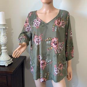 TORRID cute blouse size plus 1X